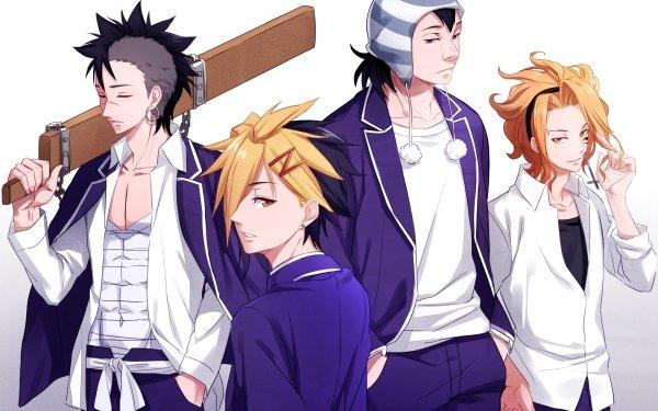 Anime Food Wars: Shokugeki no Soma Elite Ten Council HD Wallpaper | Background Image