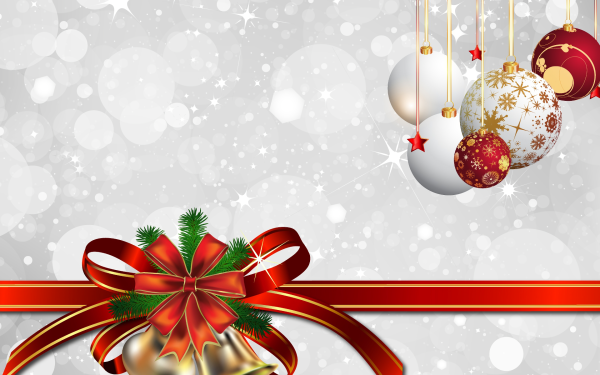 Holiday Christmas Decoration Bell Christmas Ornaments HD Wallpaper | Background Image