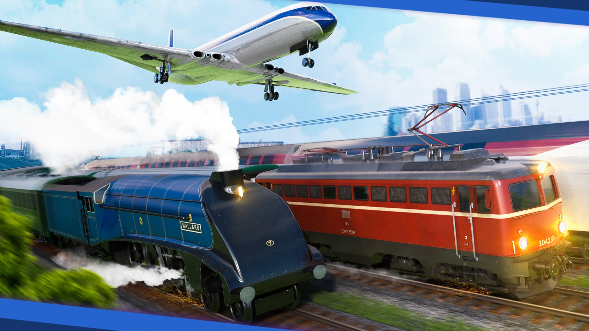 Transport Fever HD Wallpaper