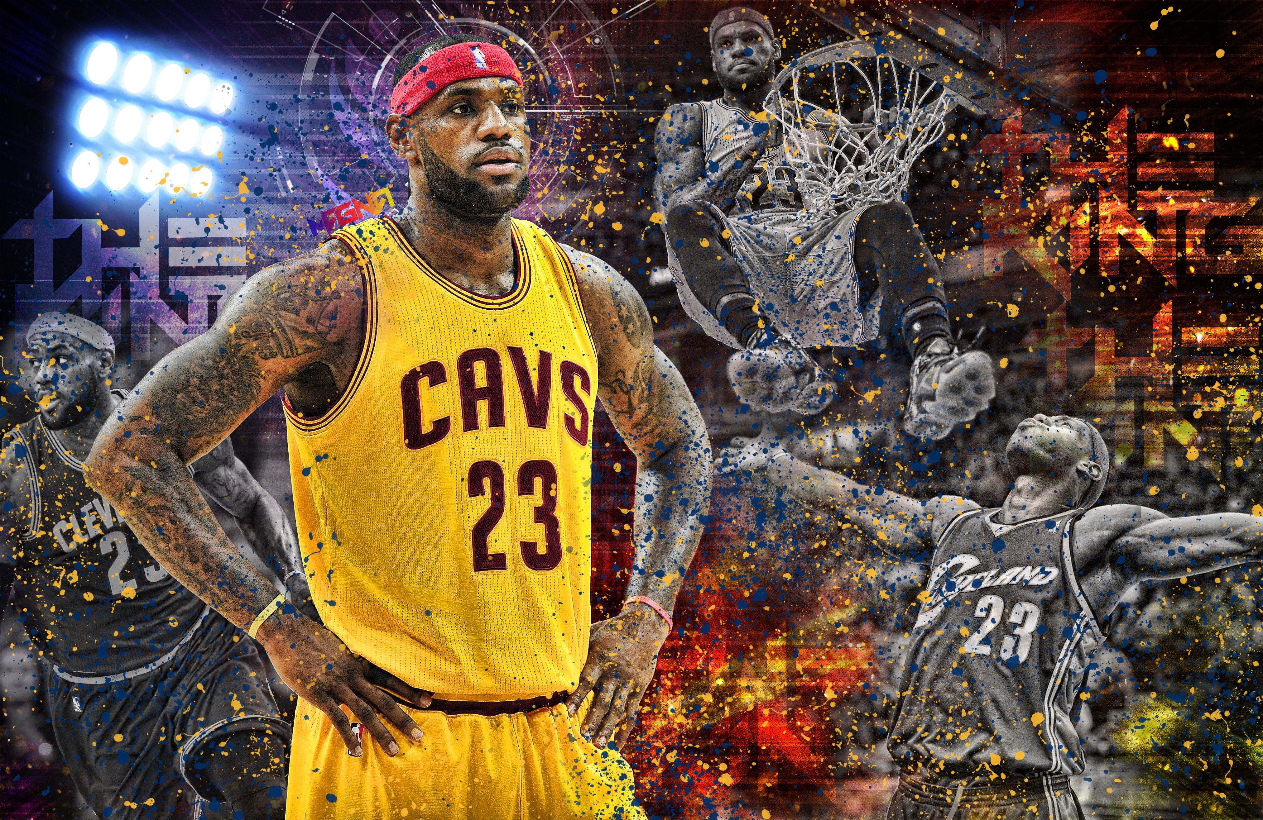 Sport Wallpaper James D Arcy: LeBron James 4k Ultra HD Wallpaper