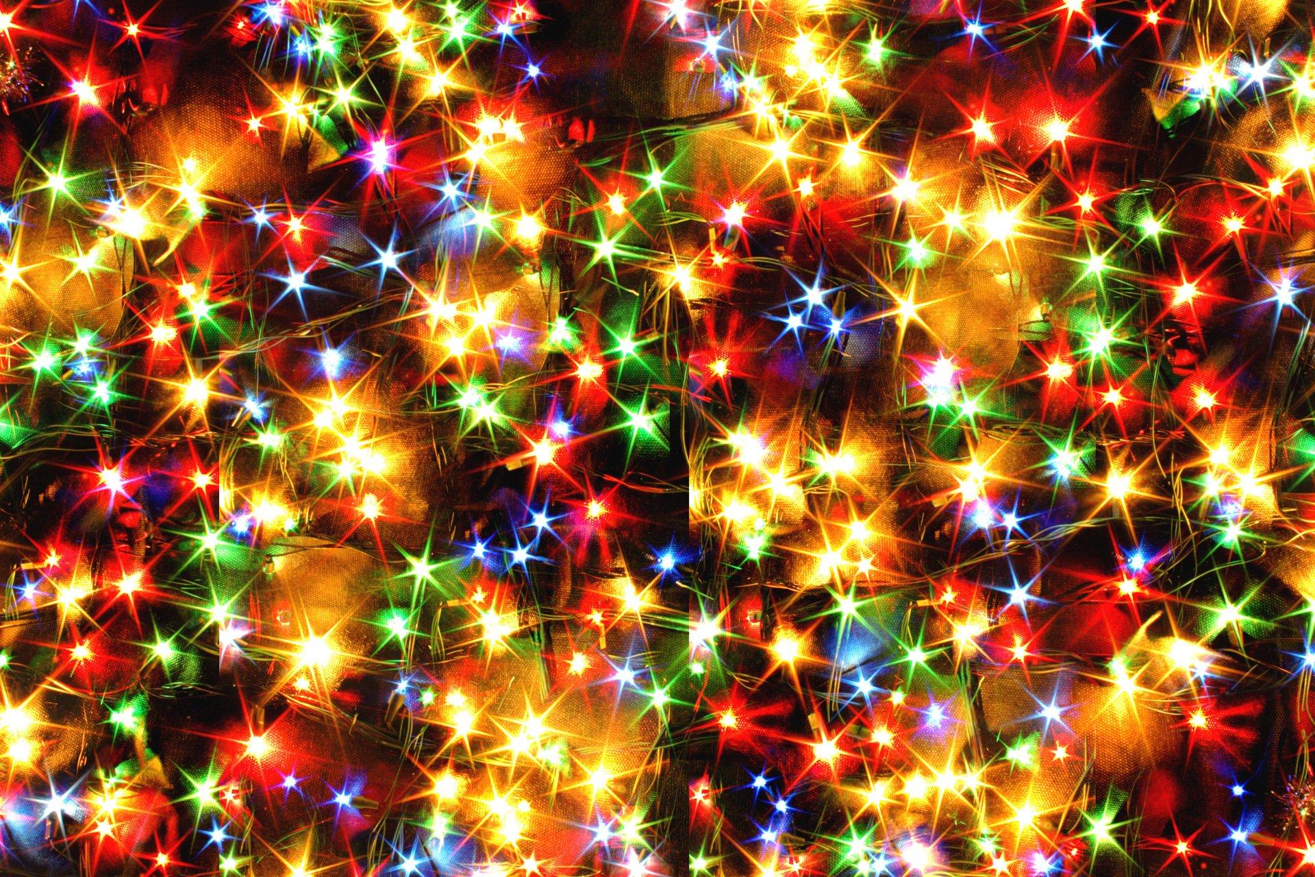Christmas Lights 4k Ultra Hd Wallpaper Background Image