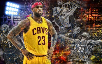 16 4K Ultra HD LeBron James Wallpapers