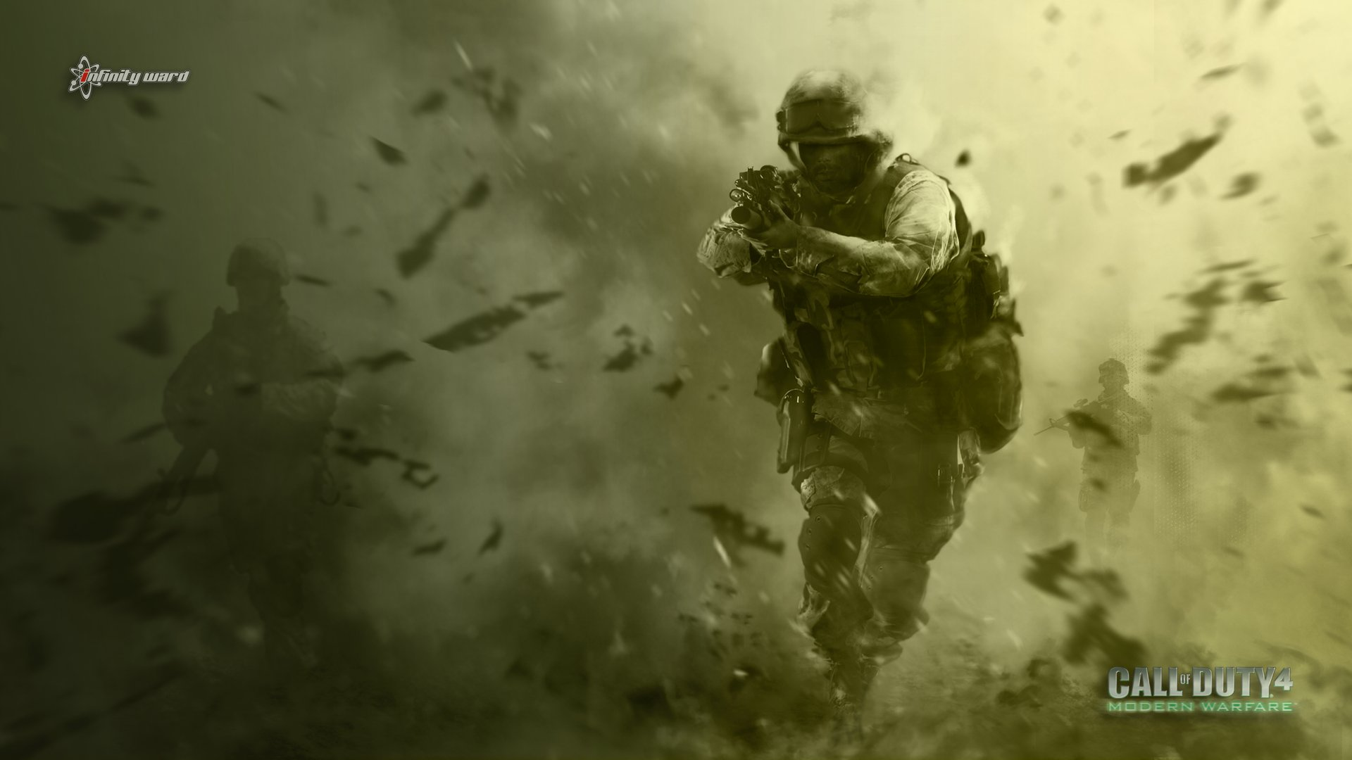 Call Of Duty 4 Wallpapers - Wallpaper Cave
