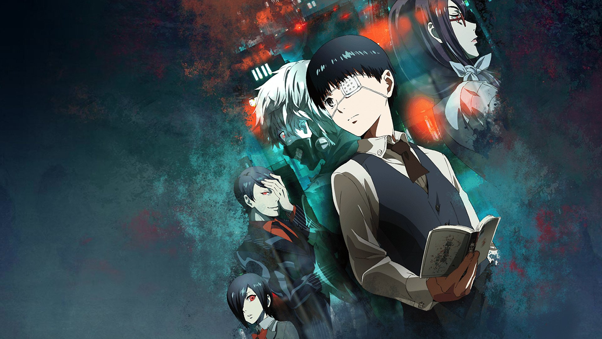 Tokyo Ghoul Characters HD Wallpaper | Background Image