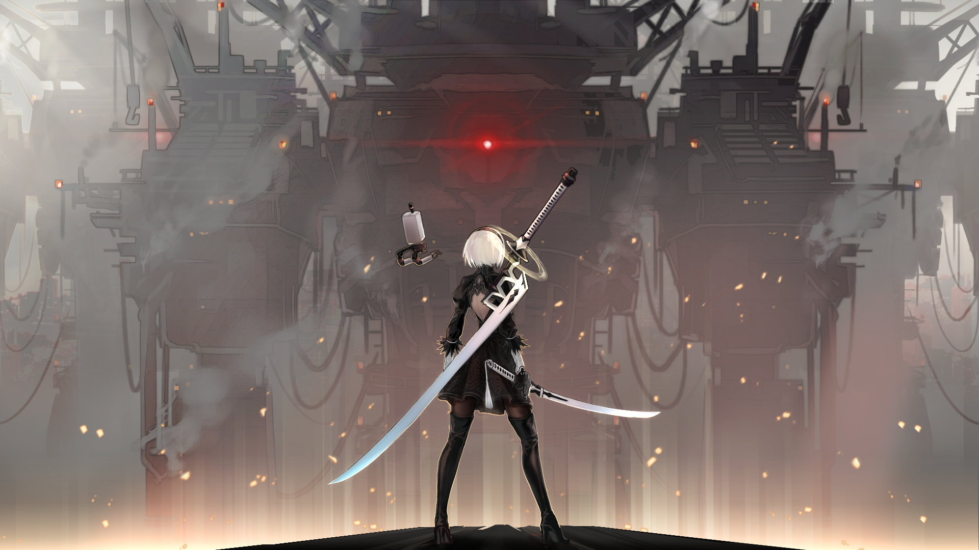 232 Nier Automata Hd Wallpapers Background Images Wallpaper Abyss