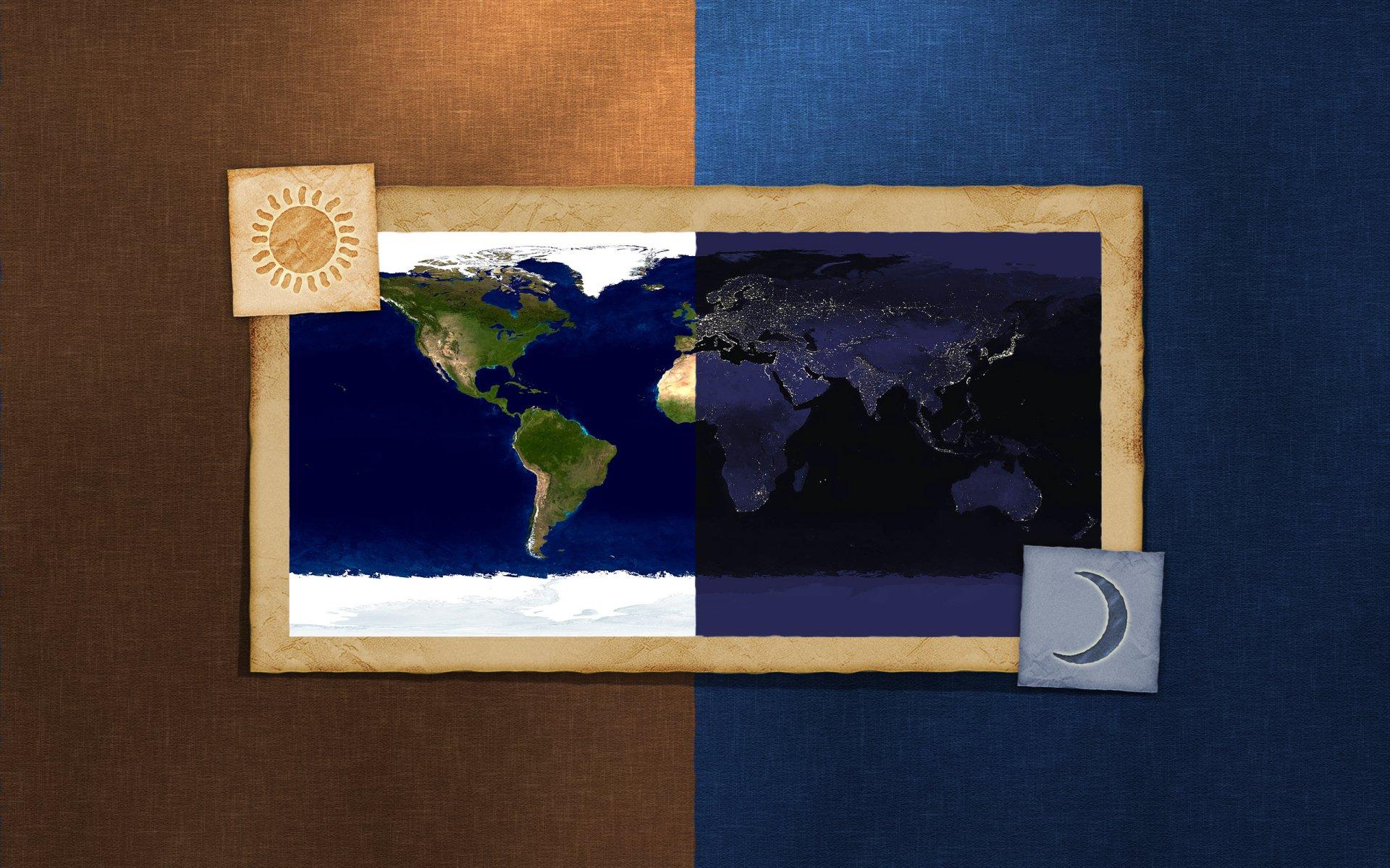 Diversen - Kaart  Wallpaper
