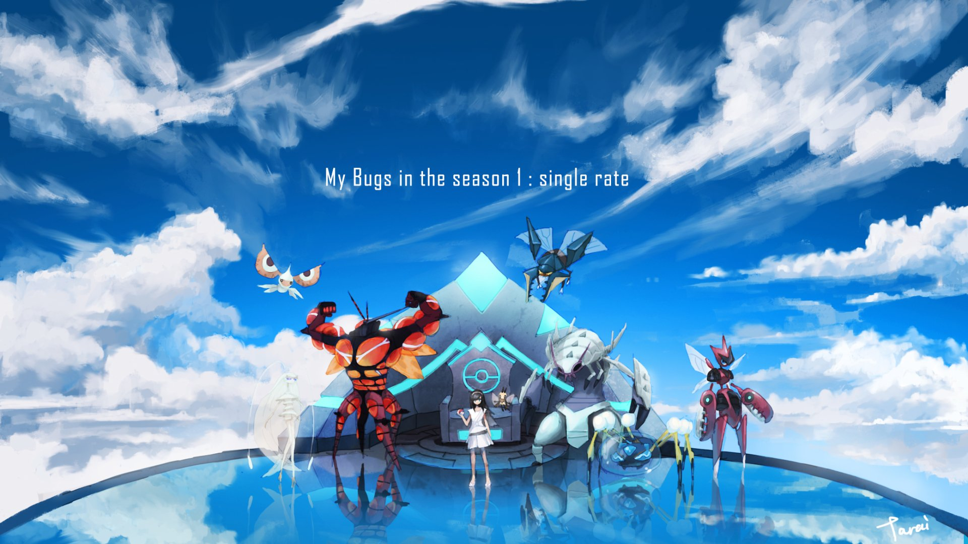 Video Game - Pokémon Sun And Moon  Wallpaper