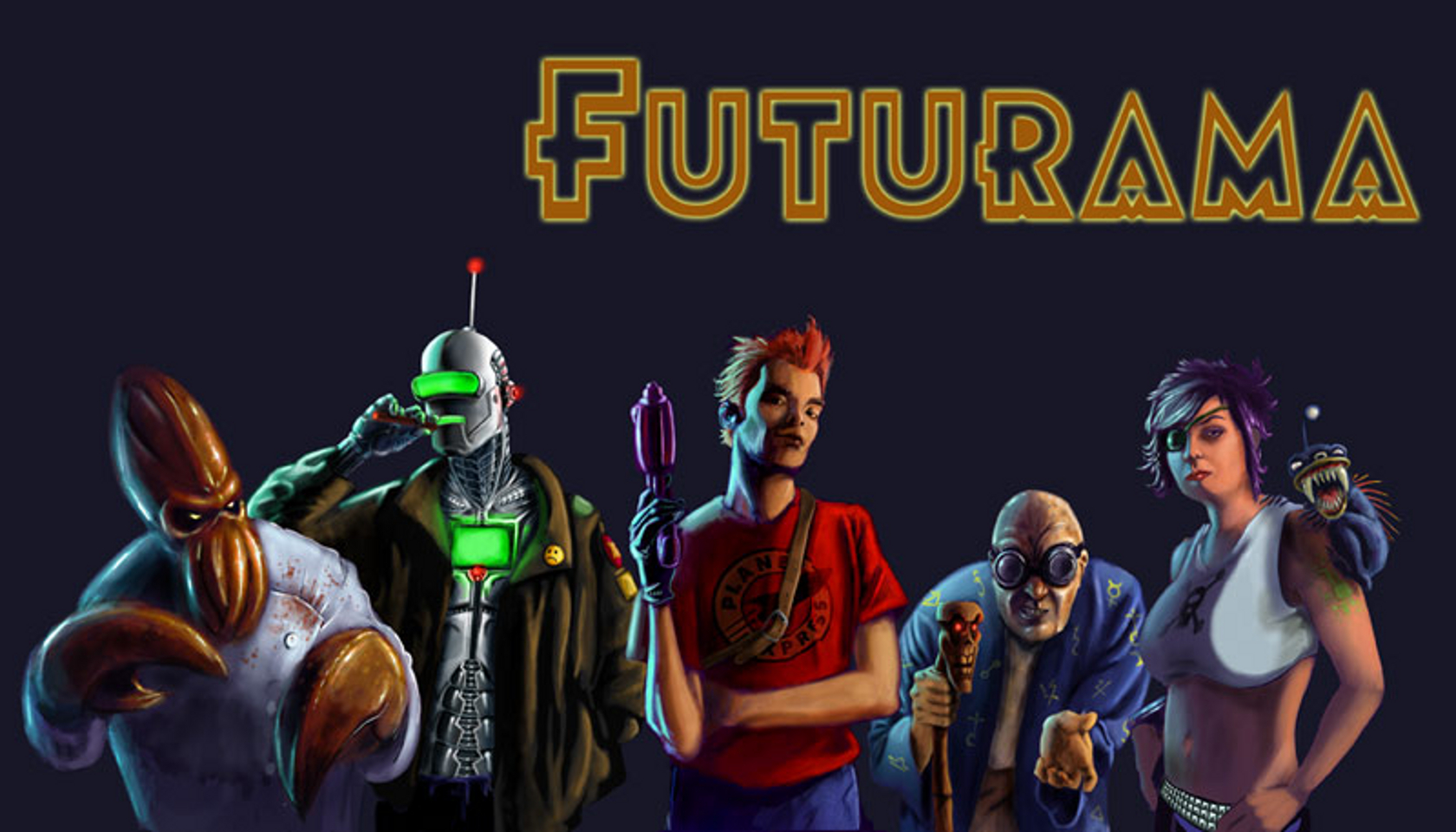 Futurama Wallpaper and Background Image | 1680x960 | ID:78715 - Wallpaper Abyss