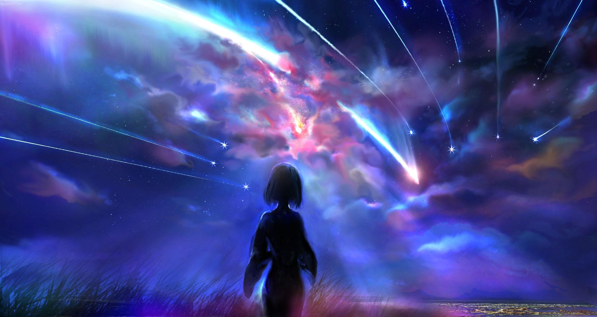 Kimi no na wa fondo de pantalla and fondo de escritorio - Fondos de pantalla para pc 4k anime ...