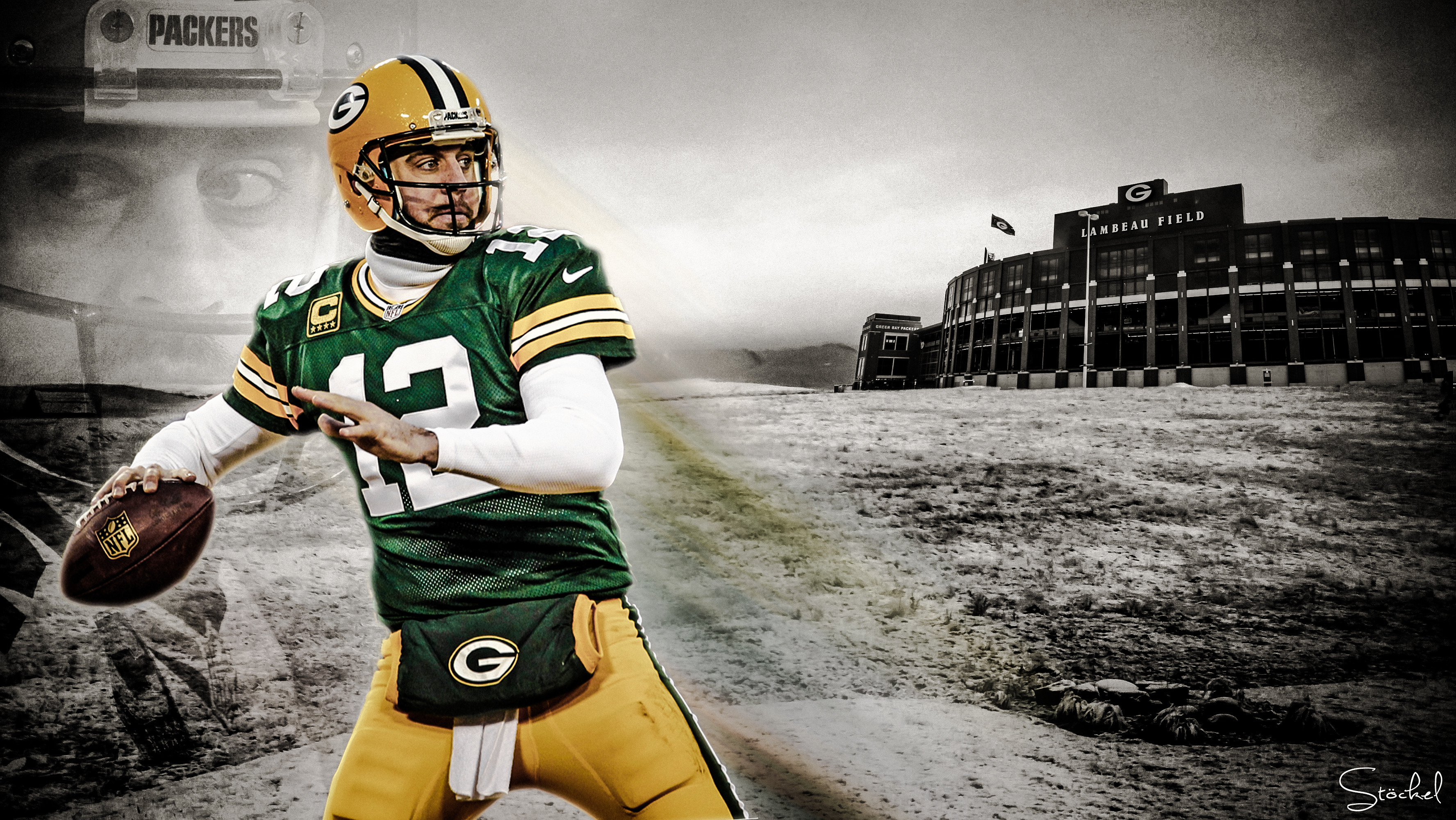 Aaron Rodgers Full HD Wallpaper And Background Image