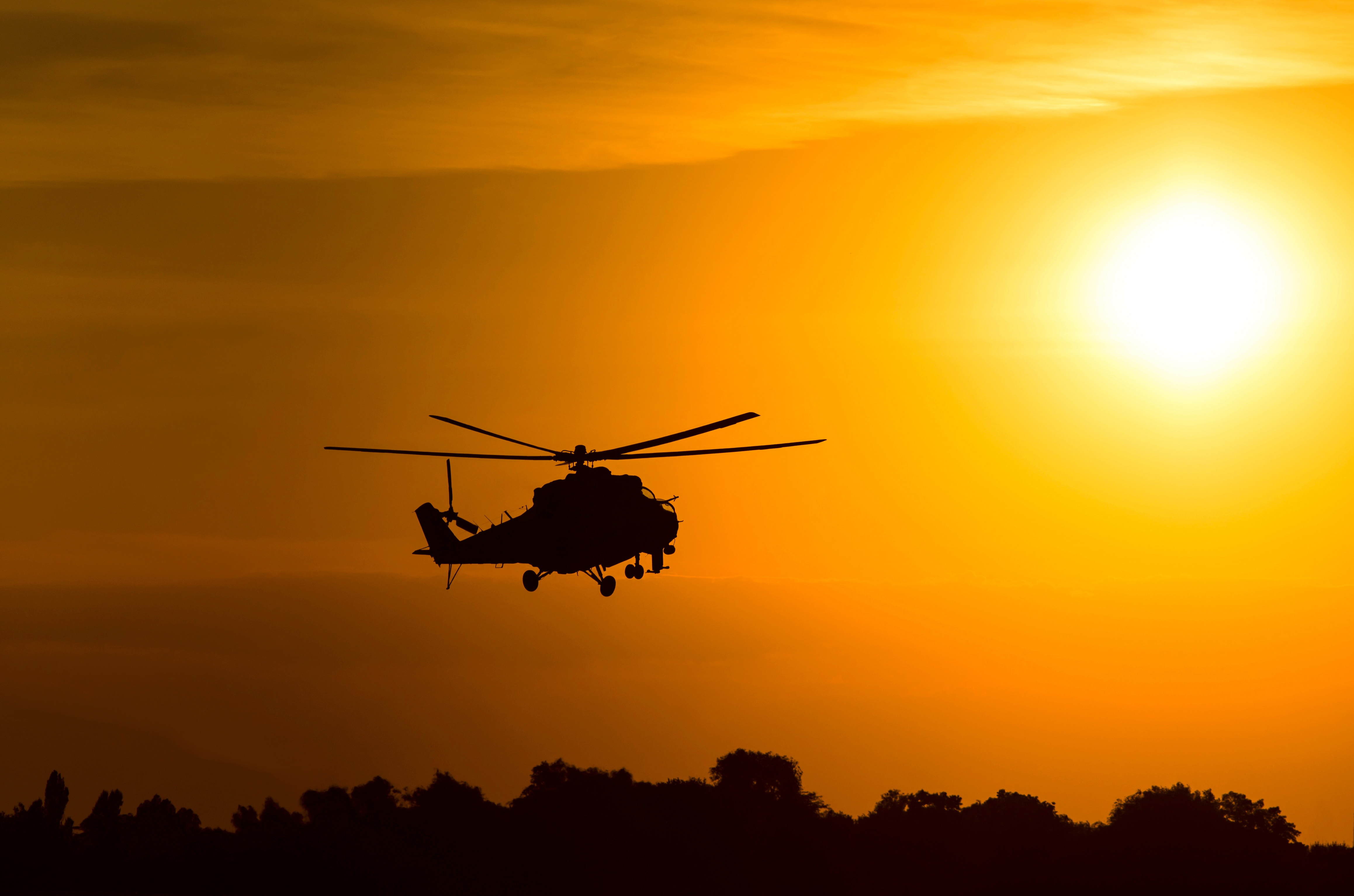 Military Helicopter 4k Hd Desktop Wallpaper For 4k Ultra: Mil Mi-24 4k Ultra HD Wallpaper