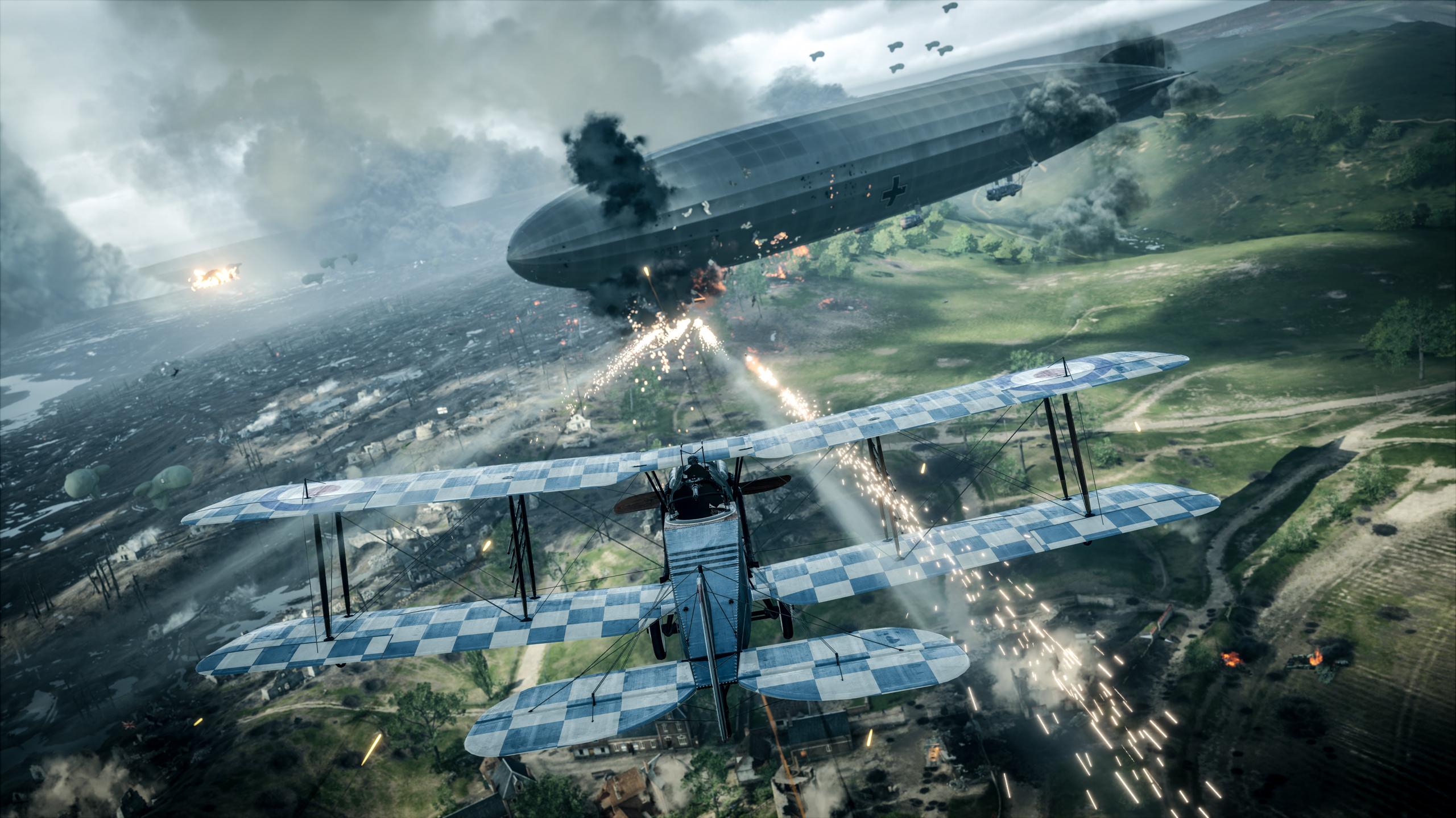 Battlefield 1 HD Wallpaper   Background Image   2560x1440 ...