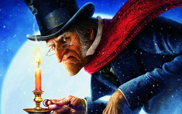 Movie A Christmas Carol (2009) Disney HD Wallpaper | Background Image