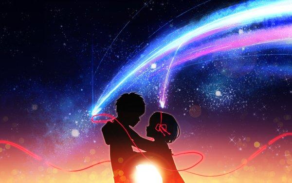 Anime Your Name. Mitsuha Miyamizu Taki Tachibana HD Wallpaper | Background Image