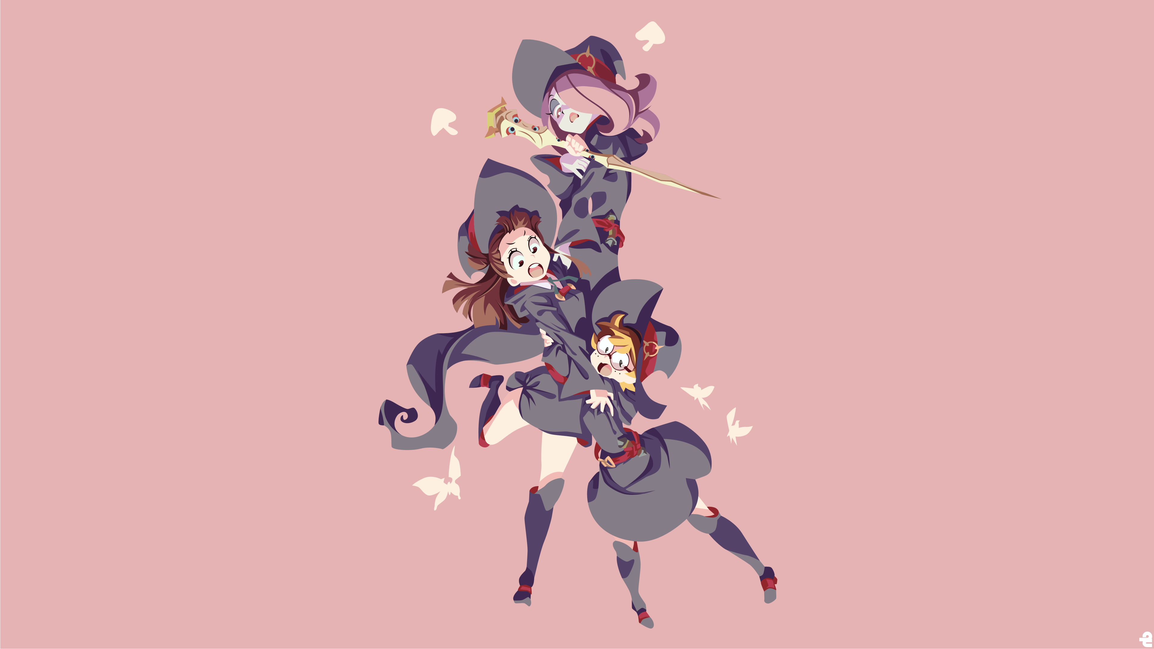 161 Little Witch Academia Hd Wallpapers Background Images