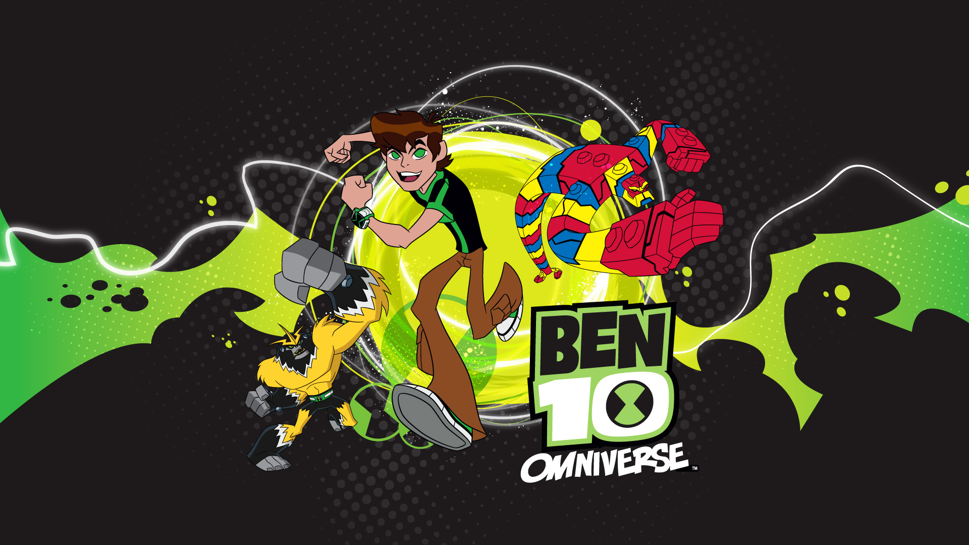 Ben 10 omniverse full hd wallpaper and background image 1920x1080 video game ben 10 omniverse wallpaper voltagebd Image collections