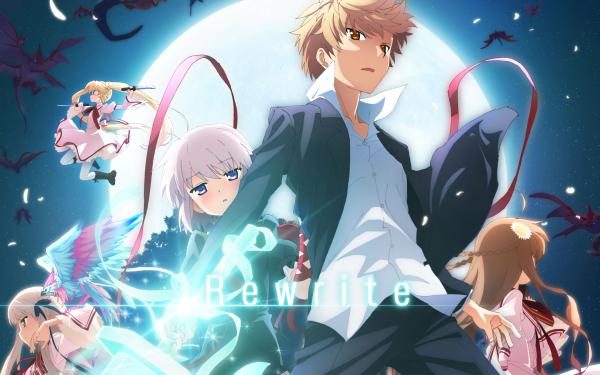 Anime Rewrite Kagari HD Wallpaper | Background Image