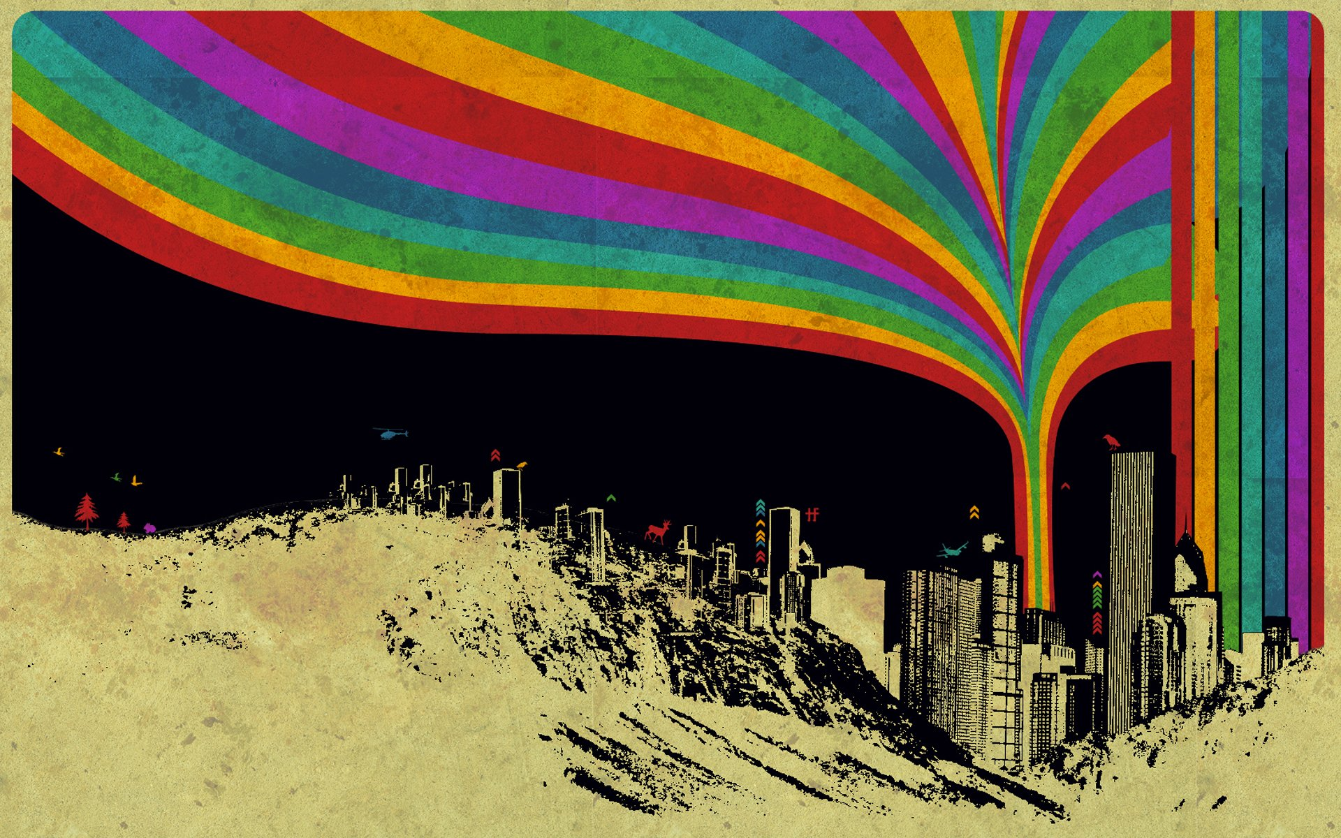 艺术 - 色彩  壁纸