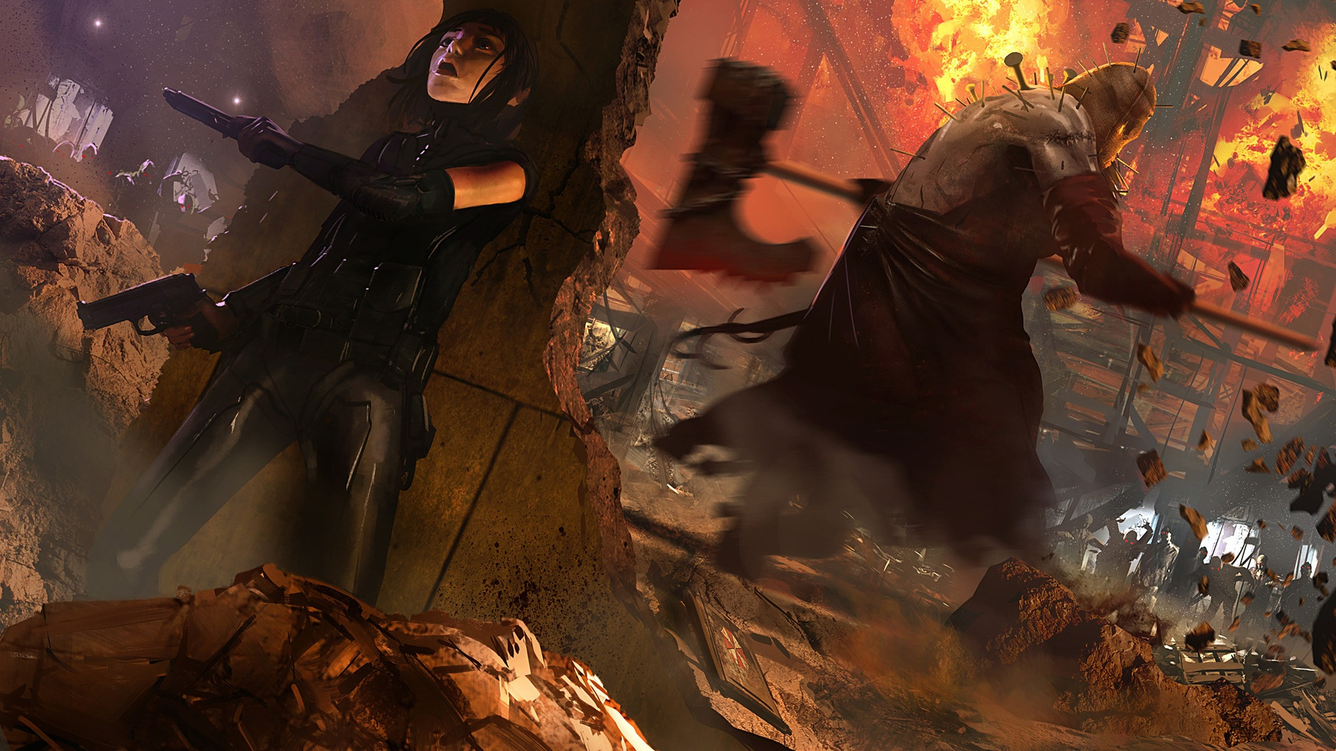 Resident evil 5 gold edition hd wallpaper background - Wallpaper resident evil 5 ...