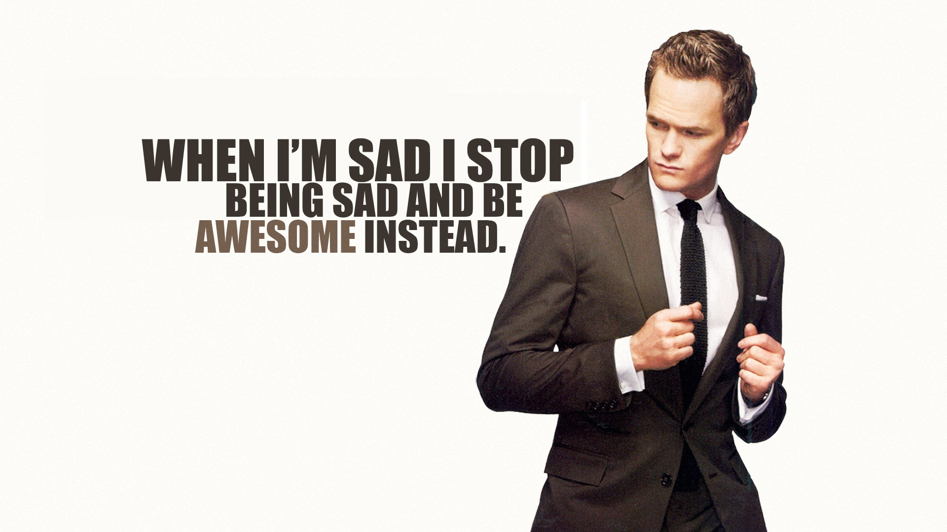 TV Show - How I Met Your Mother  Neil Patrick Harris Barney Stinson Wallpaper