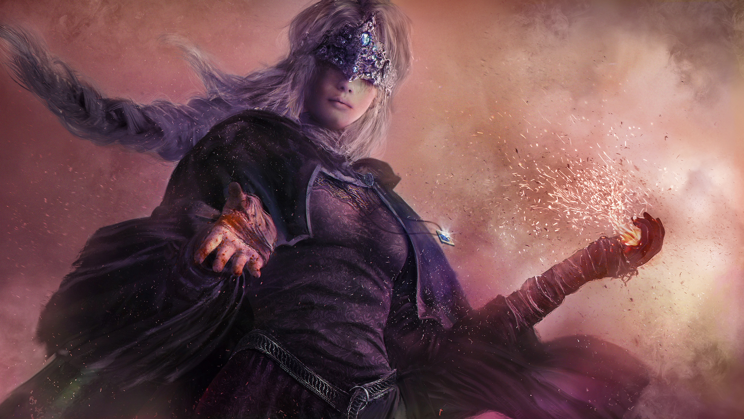 6 Fire Keeper Dark Souls Hd Wallpapers Background Images