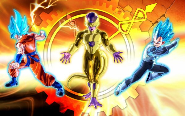 Anime Dragon Ball Z: Resurrection of F Dragon Ball HD Wallpaper   Background Image