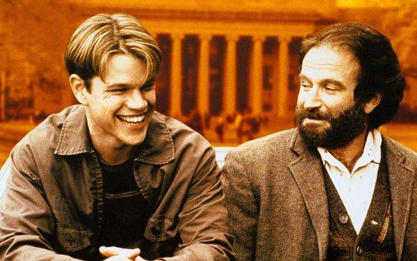 Movie Good Will Hunting Robin Williams Matt Damon HD Wallpaper | Background Image