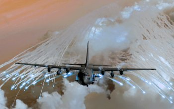 Militär - Lockheed AC-130 Wallpapers and Backgrounds ID : 80387