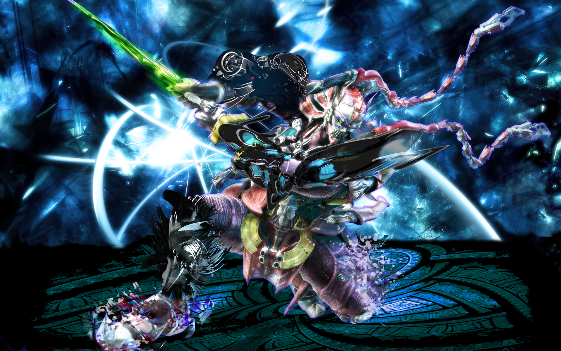 Video Game - Tekken  - Yoshimitsu - Effects - Demon Wallpaper