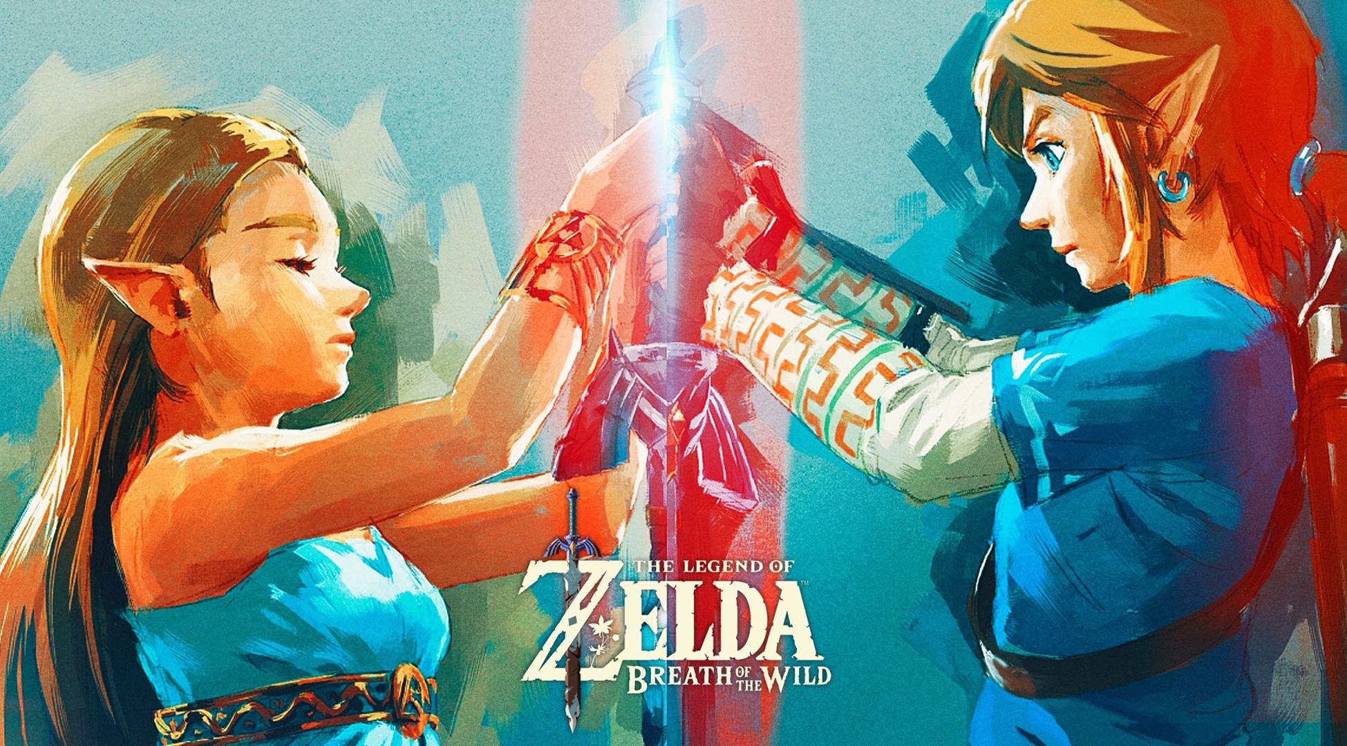 Zelda Breath Of The Wild Wallpaper 1080p: The Legend Of Zelda: Breath Of The Wild HD Wallpaper
