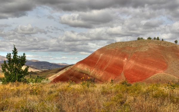 Earth Landscape Photography Sandstone Cliff Cloud Desert HD Wallpaper | Background Image