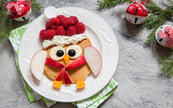 Alimento Desayuno Panqueque Animales Frambuesa Fondo de pantalla HD | Fondo de Escritorio