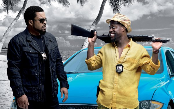 Movie Ride Along 2 Ice Cube Cop Kevin Hart Police HD Wallpaper | Background Image