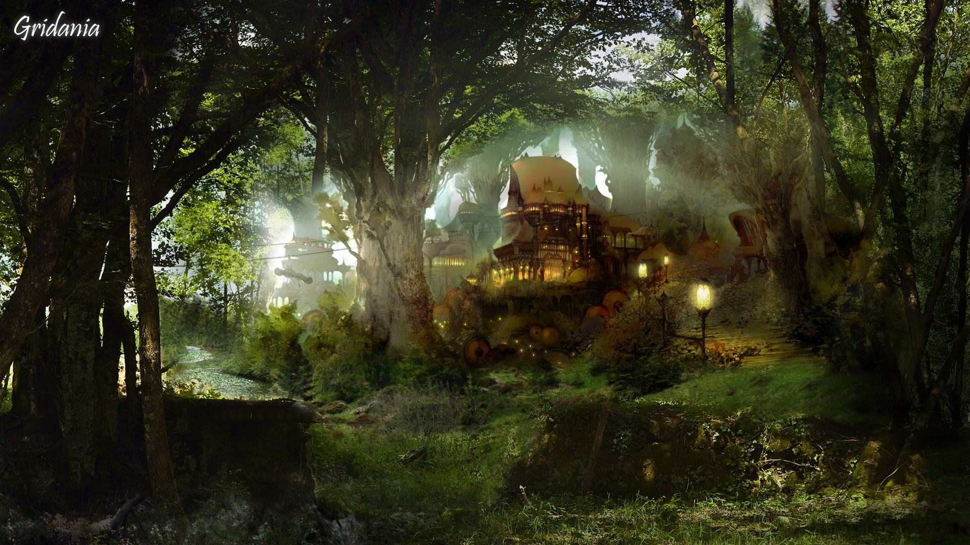 Enchanted Cottage Full HD Wallpaper and Background | 1920x1080 ...
