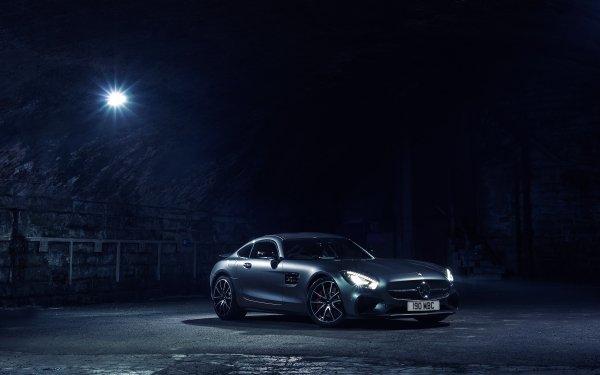 Vehicles Mercedes-Benz AMG GT Mercedes-Benz Car Silver Car Sport Car HD Wallpaper | Background Image