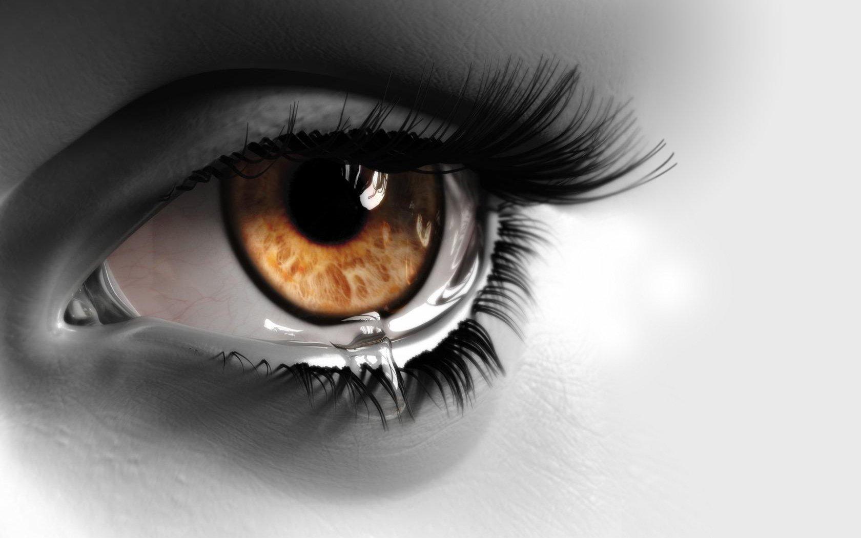 Artistic - Eye  Tears Wallpaper