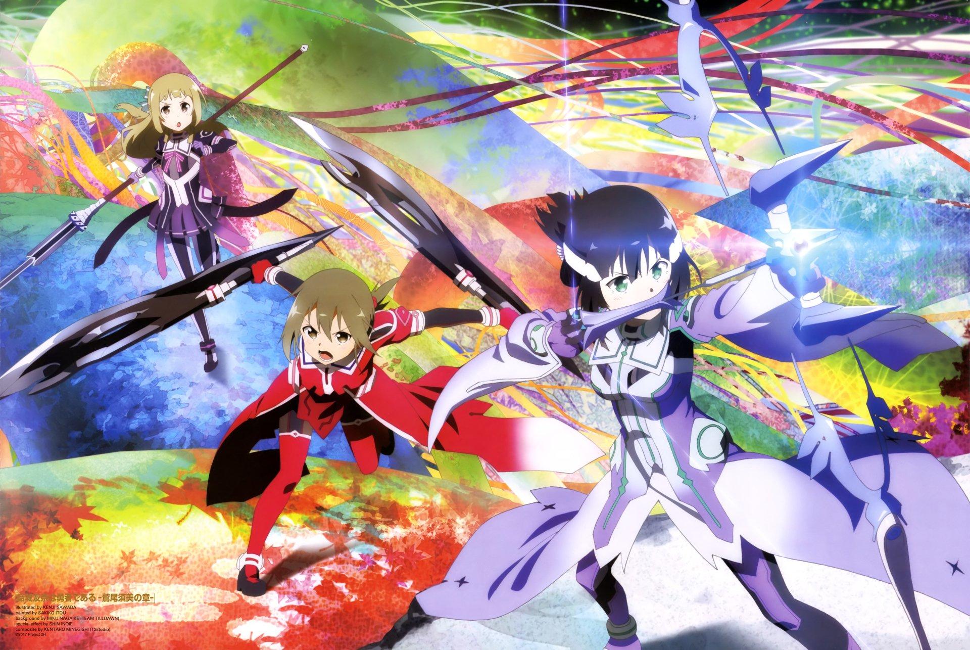5 4k Ultra Hd Yuuki Yuuna Wa Yuusha De Aru Wallpapers Background