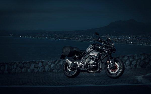 Vehicles Yamaha MT-10 Yamaha Motorcycle Night HD Wallpaper   Background Image