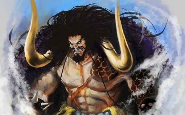 Anime One Piece Kaido Horns HD Wallpaper | Background Image