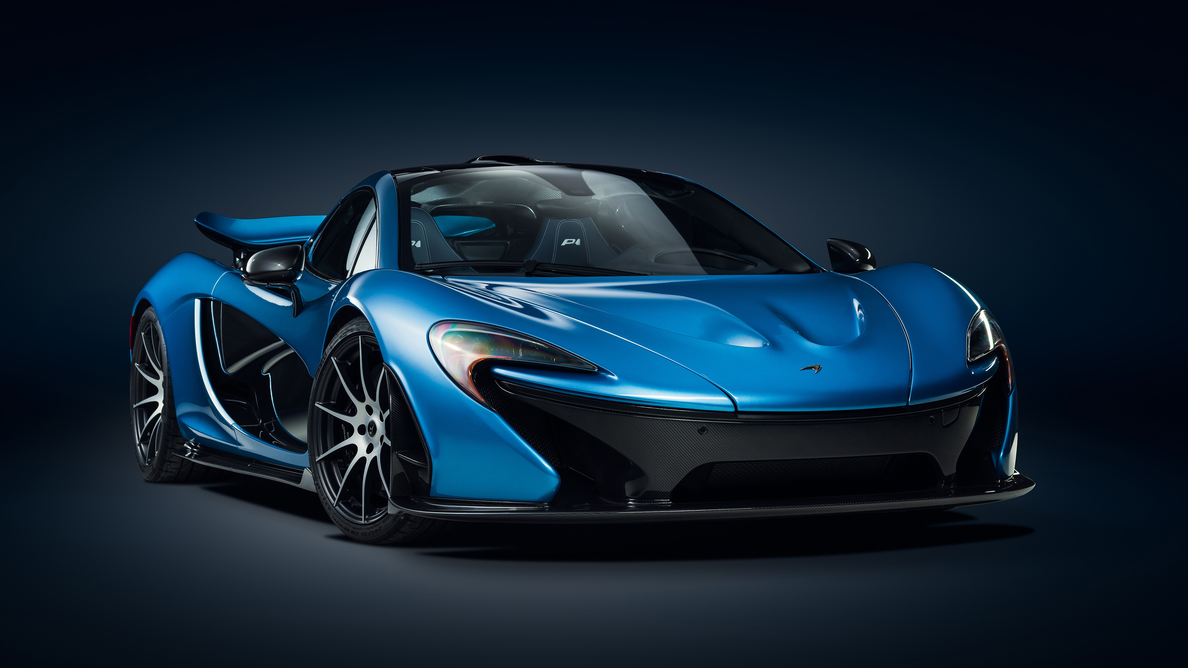 Gorgeous Blue McLaren P1 4k Ultra Fondo de pantalla HD ...