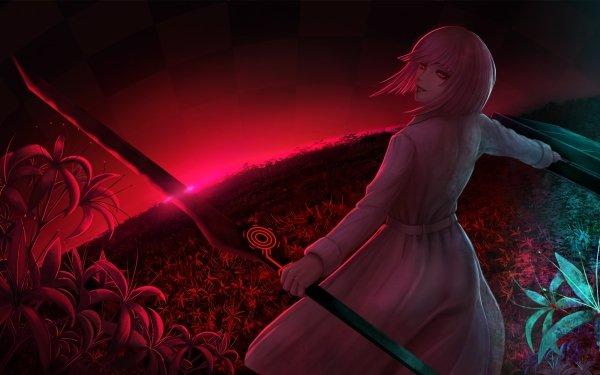 Anime Tokyo Ghoul:re Tokyo Ghoul Hairu Ihei Girl Red Short Hair Pink Hair Red Eyes Sword HD Wallpaper   Background Image