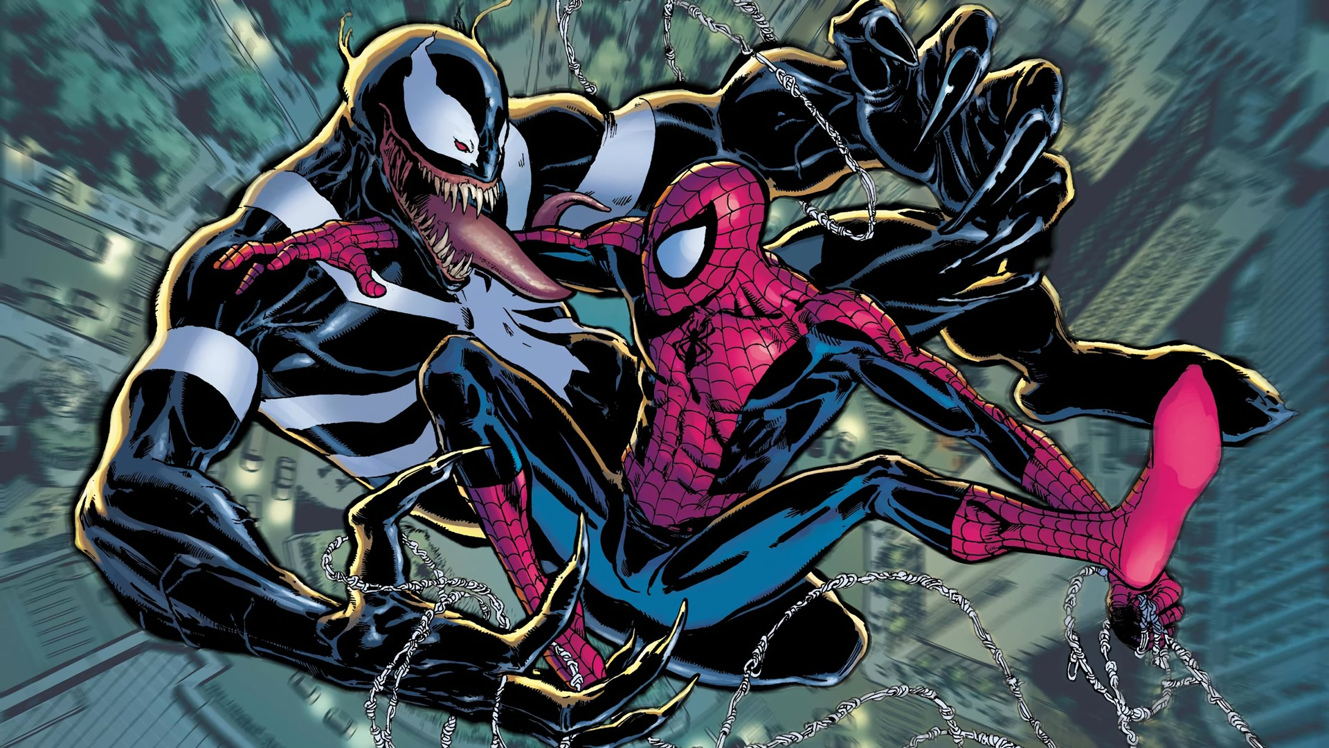 Spider Man Image Download: Venom Vs Spiderman HD Wallpaper