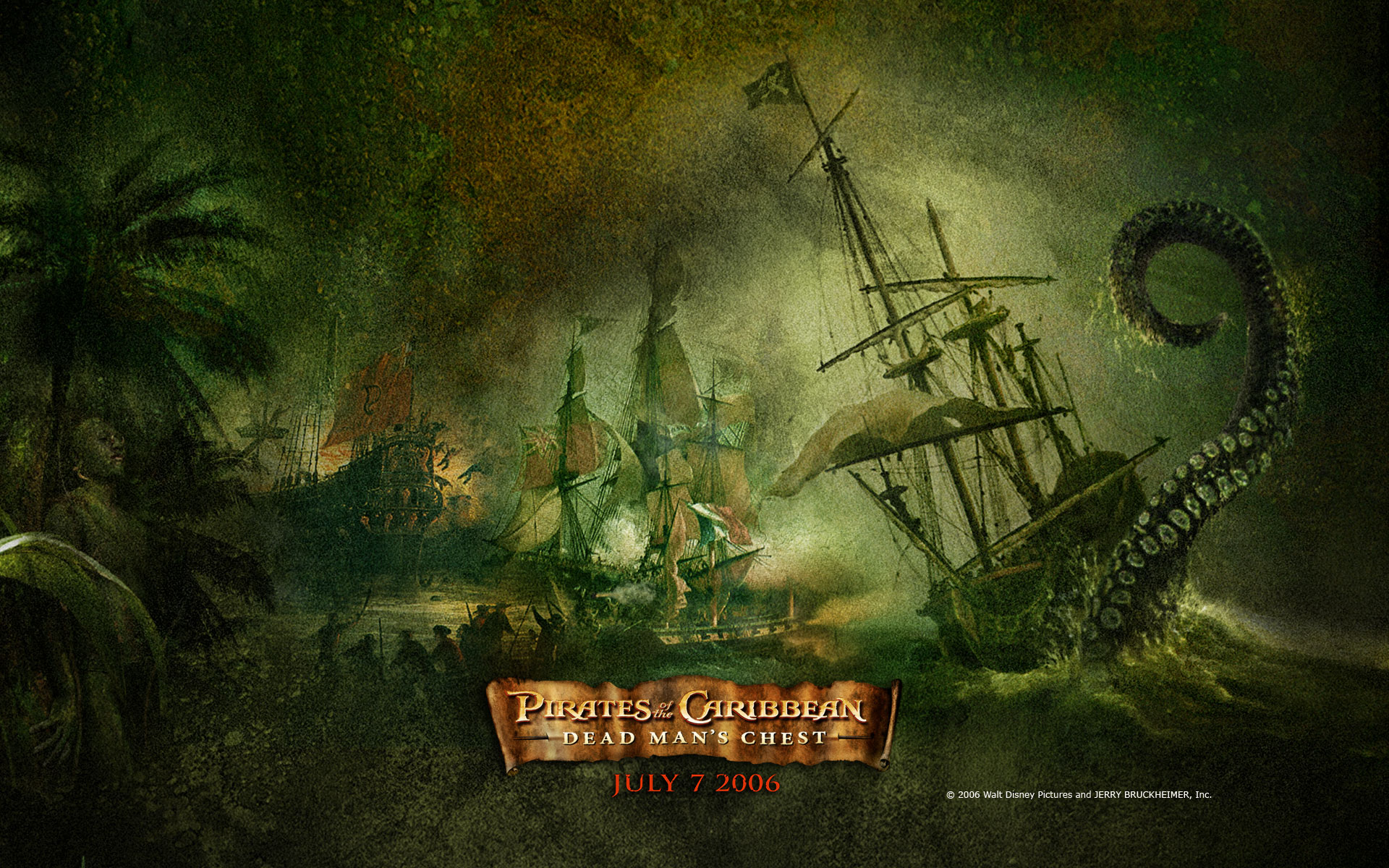 Pirates Of The Caribean Wallpaper: 73 Pirates Of The Caribbean: Dead Man's Chest HD