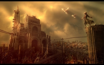 Fantasy - Großstadt Wallpapers and Backgrounds ID : 8139
