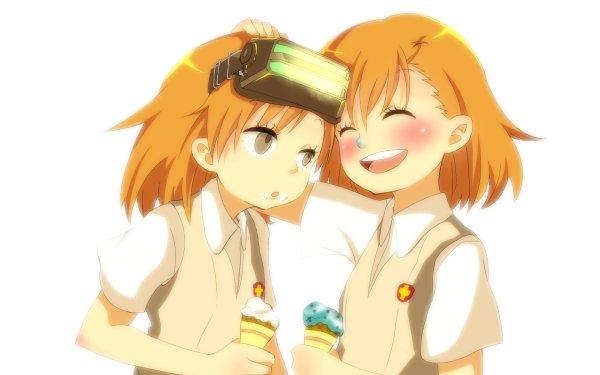 Anime A Certain Scientific Railgun A Certain Magical Index Sisters Mikoto Misaka HD Wallpaper | Background Image