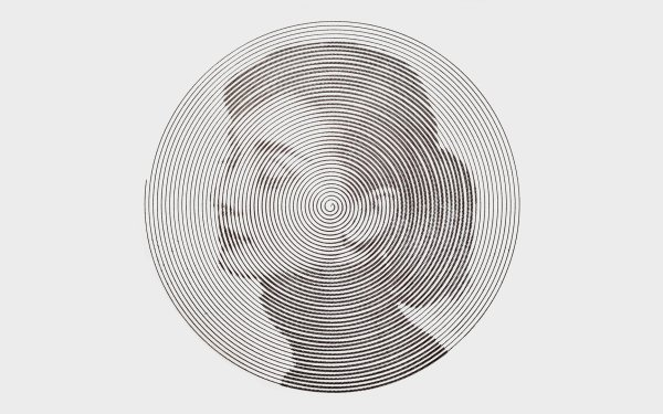 Celebrity Audrey Hepburn Actresses United Kingdom Circle Swirl HD Wallpaper | Background Image