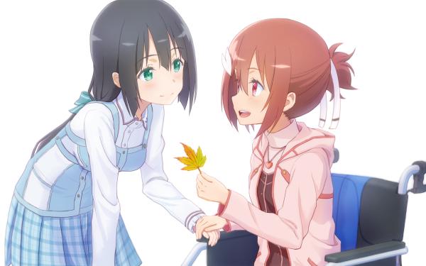 Anime Yuuki Yuuna wa Yuusha de Aru Yuki Yuna Togo Mimori HD Wallpaper | Background Image