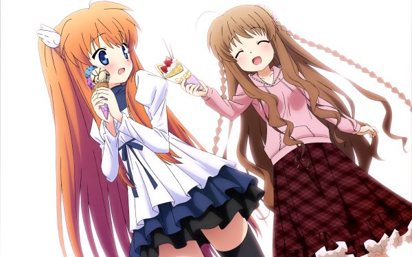 Anime Rewrite Kotori Kanbe Chihaya Ohtori HD Wallpaper | Background Image