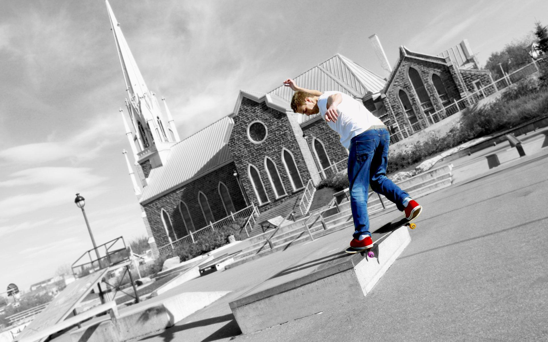 Deporte - Skate  Fondo de Pantalla