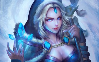 20 Crystal Maiden Dota 2 Hd Wallpapers Background Images